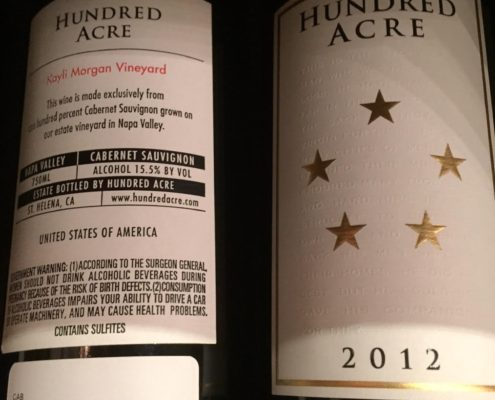 Hundred Acre 'Kayli Morgan Vineyard' Cabernet Sauvignon